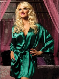 Flawless Satin Robe