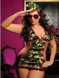 Major Mayhem 3 PC Plus Size Set