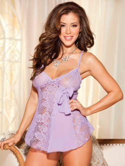 Gorgeous Lace Babydoll Set