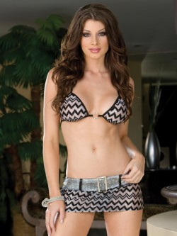 Shimmer Belted 3 PC Set