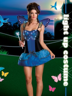 Butterfly Beauty Light Up 4 PC Costume