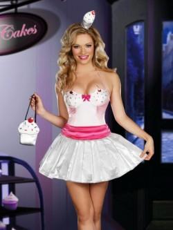 Cupcake Cutie 3 PC Costume