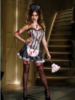 Maid Mayhem 5 PC Costume