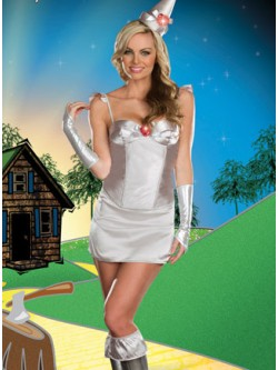 Tintillating Woman 8 PC Costume