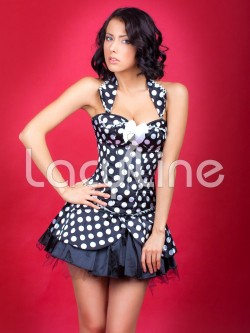 Pin Up Girl 2 PC Corset Set