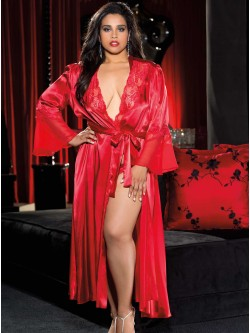 Hollywood Glamour Plus Size Robe
